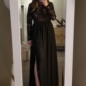 Forever21 Lace Maxi Dress with Slits